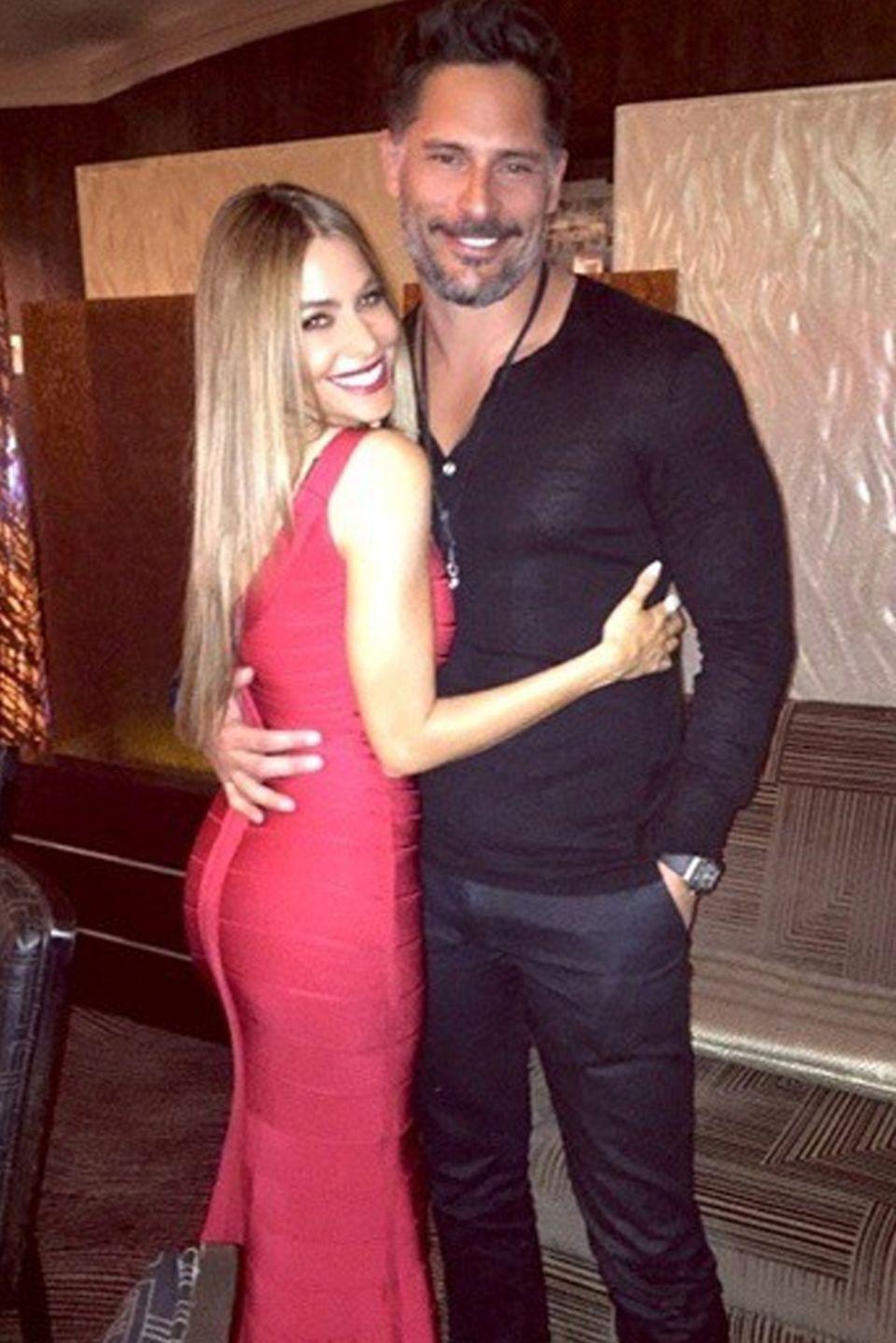 Sofia Vergara + Joe Manganiello
