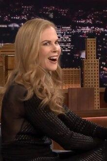 Nicole Kidman zu Gast bei Jimmy Fallon.