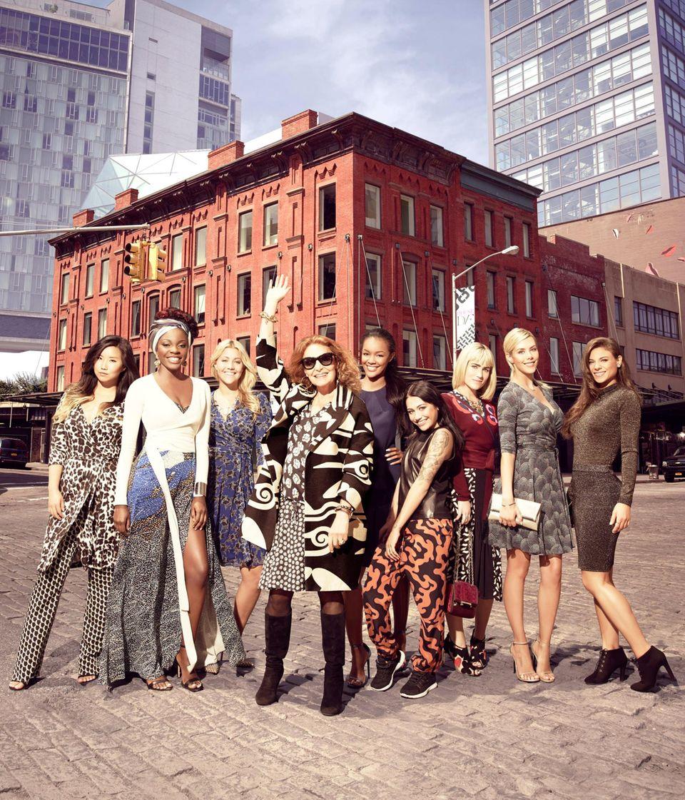 """In der neuen TV-Casting-Show """"House of DVF"""" (E! Enterntainment, ab 11. Januar, sonntags 21 Uhr) sucht Diane von Furstenberg eine Markenbotschafterin für ihr Unternehmen."""