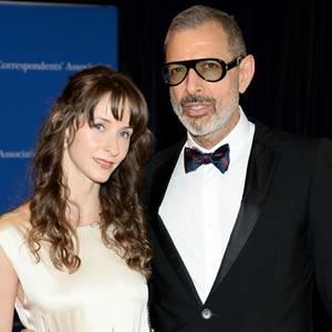 Emilie Livingston + Jeff Goldblum