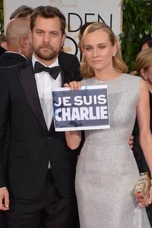 Diane Kruger + Joshua Jackson