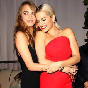 Cara Delevingne + Rita Ora