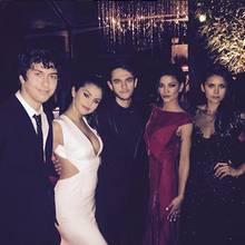 Selena Gomez und DJ Zedd treffen auf der Golden-Globe-Party unter anderem Jessica Szohr und Nina Dobrev.