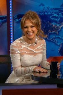 """The Daily Show"" mit Jennifer Lopez."