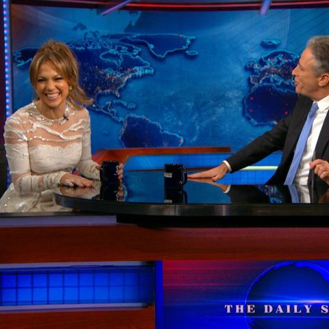 """The Daily Show"" mit Jennifer Lopez."