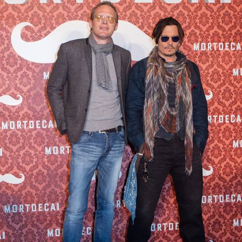 Paul Bettany + Johnny Depp