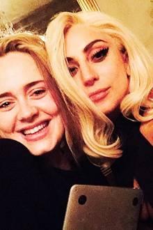 Adele + Lady Gaga