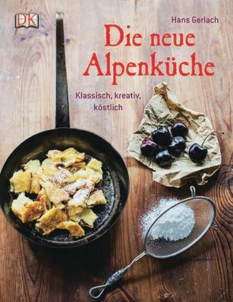 """Hans Gerlach war viele Jahre lang Koch in Sternerestaurants von Sylt bis Mailand. Die große Leidenschaft des Münchners sind die zünftigen Gourmetspitzen der Bergküche. In seinem neuen Kochbuch entführt er Foodies mit neu interpretierten Klassikern wie karamellisiertem Kaiserschmarrn und Buchweizenravioli mit Burrata-Bärlauch-Füllung auf die Hüttn. (""""Die neue Alpenküche"""", Dorling Kindersley Verlag, 224 S., 24,95 Euro)"""