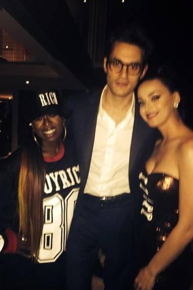 Missy Elliot, John Mayer, Katy Perry