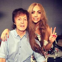 Paul McCartney, Lady Gaga