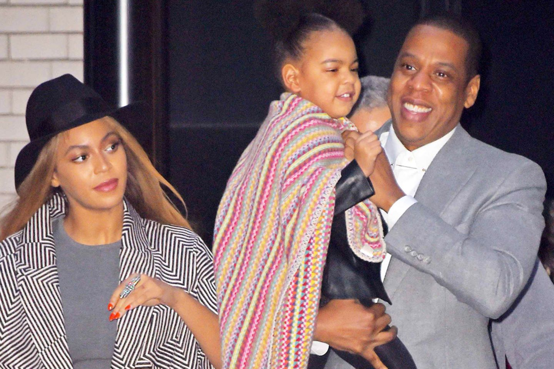 Beyoncé, Jay-Z und Blue Ivy
