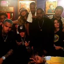"""Neben JLo und Casper Smart waren unter anderem auch Justin Bieber, Kendall Jenner, Kanye West und Chris Brown im """"House Of Blues"""" in Hollywood."""