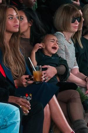 P. Diddy, Jay-Z, Beyoncé Knowles, Kim Kardashian, North West, Anna Wintour