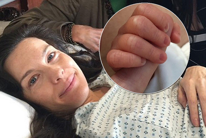 Liv Tylers Vater Steven war bei der Geburt ihres Söhnchens dabei.