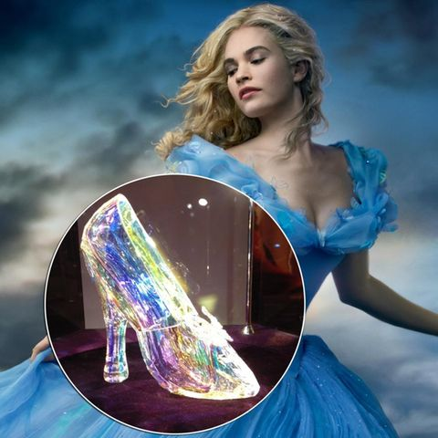 "Lily James als ""Cinderella"""