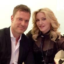 GALA-Redakteur Alexander Nebe traf Madonna in New York.