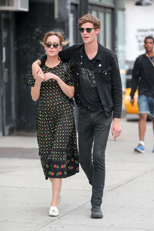 Privates Glück: Seit gut einem halben Jahr ist Dakota Johnson mit dem Musiker Matthew Hitt liiert.