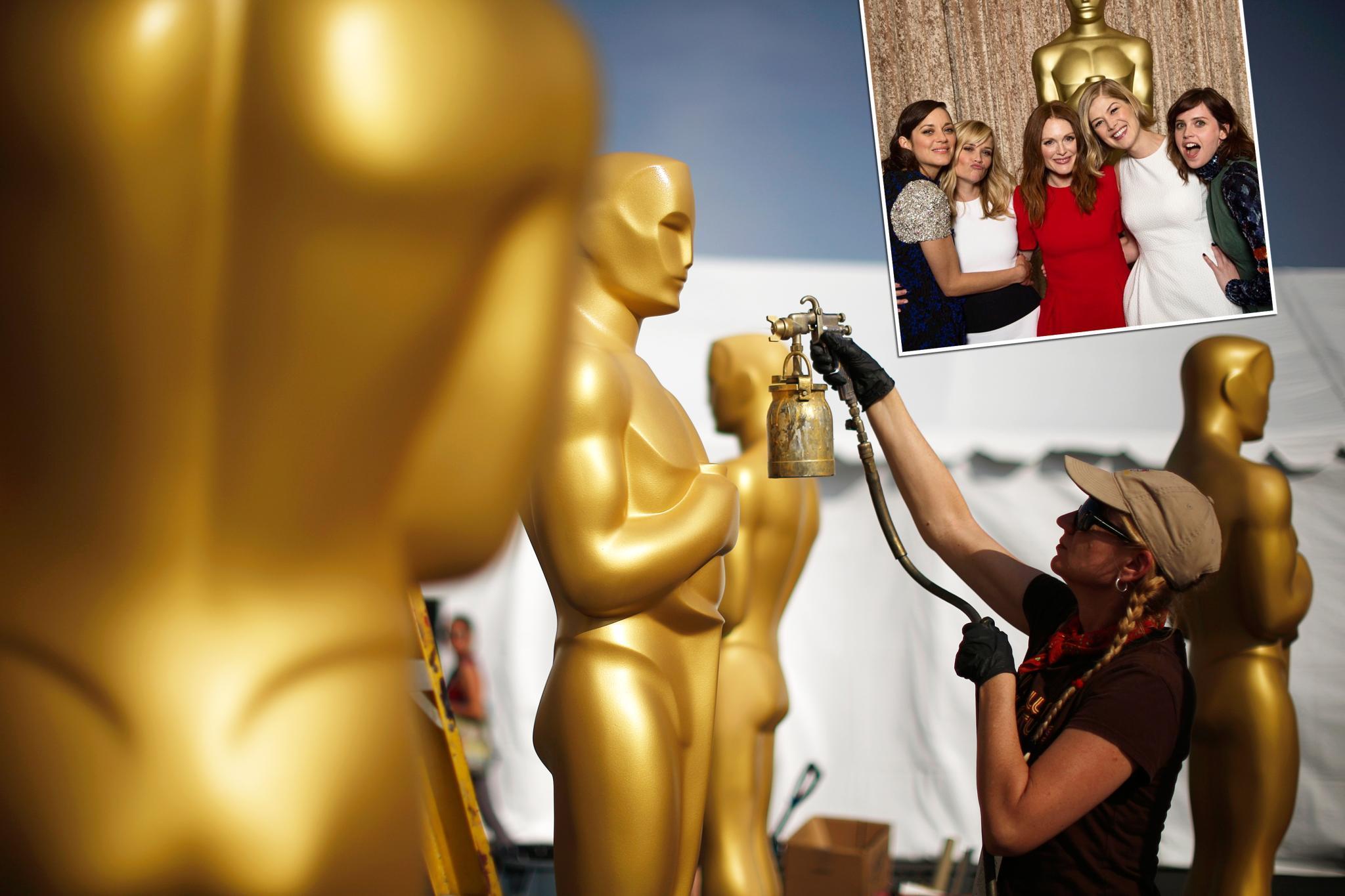 Oscar Vorbereitungen