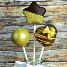 Emily's Oscar-Cake-Pops