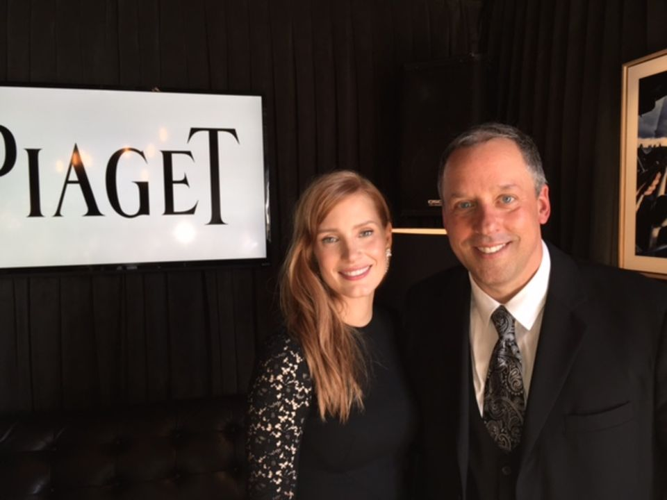 GALA-Korrespondent Andreas Renner traf Jessica Chastain in Los Angeles zum Interview