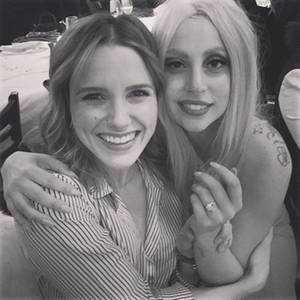 Sophia Bush mit Lady Gaga