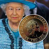 Queen Elizabeth mit ihrem 2015er Münzporträt