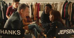 "Tom Hanks und Carly Rae Jepsen im Video zu ""I Really Like You"""