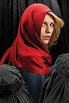 "Claire Danes ist ""Carrie Mathison"""