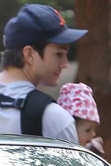 Ashton Kutcher + Wyatt