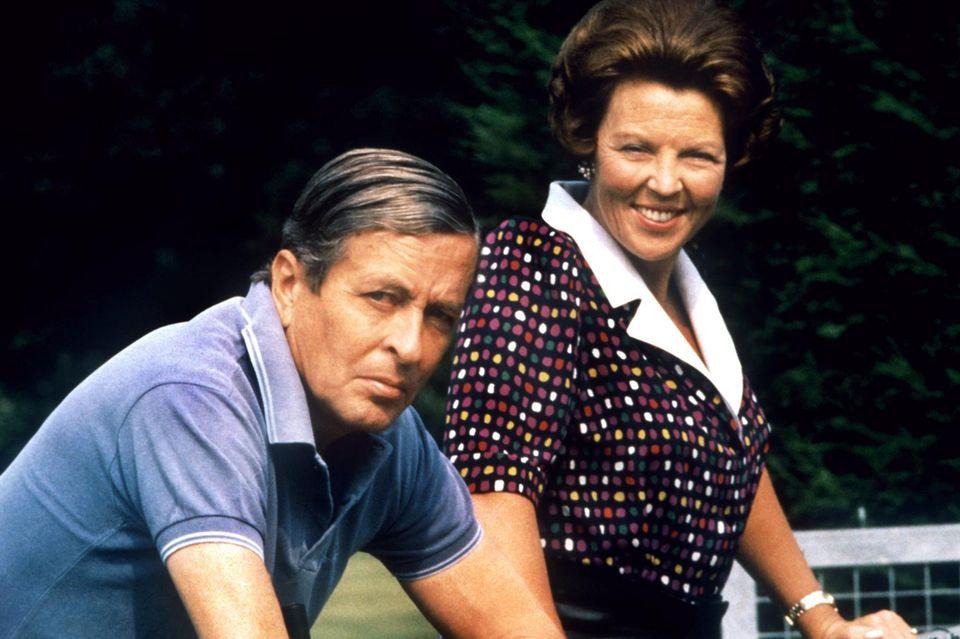 Willems Eltern Beatrix und Claus von Amsberg, der 2002 starb.