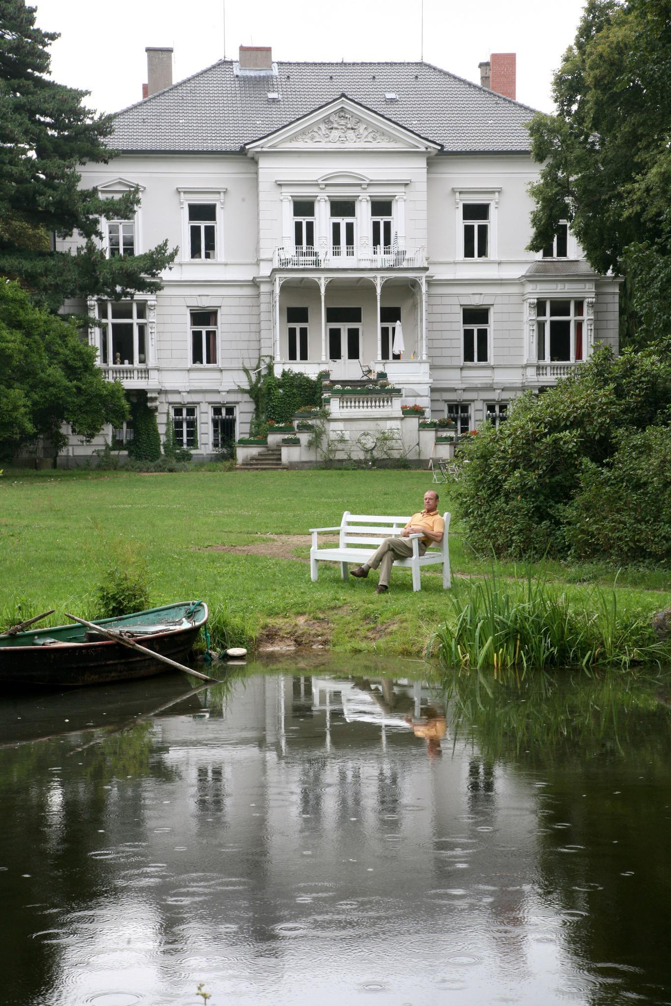 Gut Dötzingen bei Hitzacker, der Familiensitz der Amsbergs.