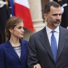 Königin Letizia und König Felipe