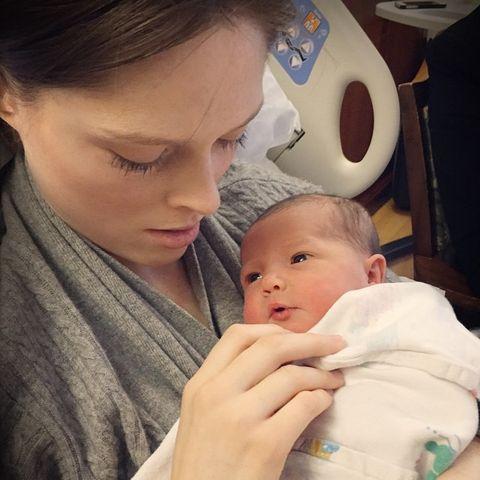 Coco Rocha mit ihrem Baby
