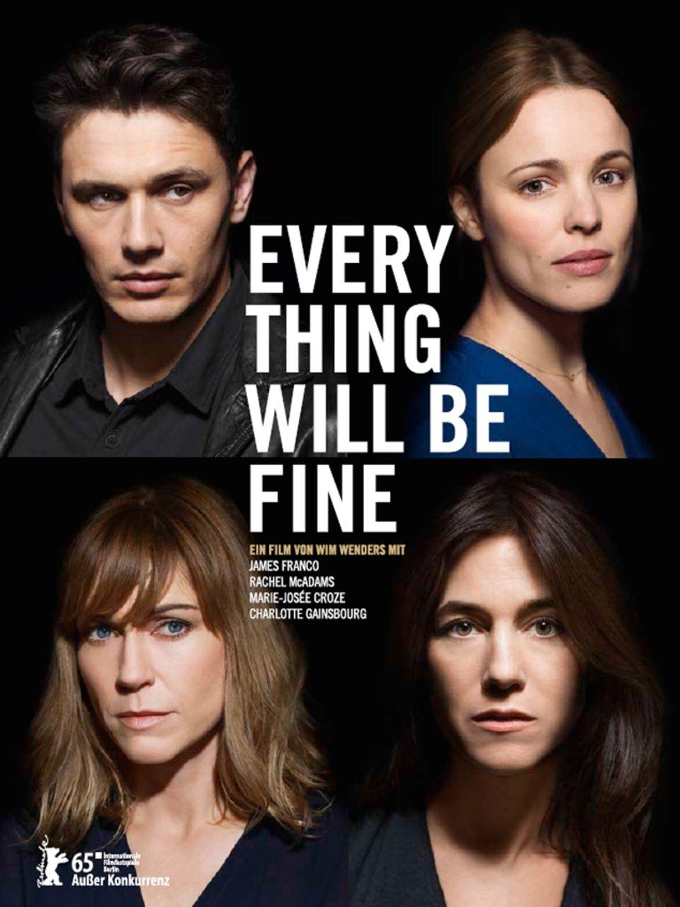 """Der Film """"Every Thing Will Be Fine"""" von Regisseur Wim Wenders, in dem James Franco die Hauptrolle übernahm, kommt am 2. April in die deutschen Kinos."""