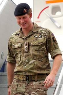 Prinz Harry bei seiner Ankunft in Canberra