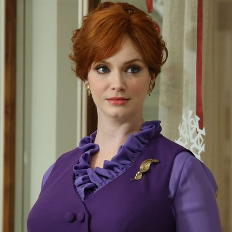 "Christina Hendricks als ""Joan Harris"""