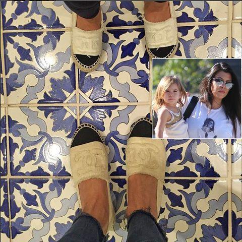 Kourtney Kardashian + Penelope Disick