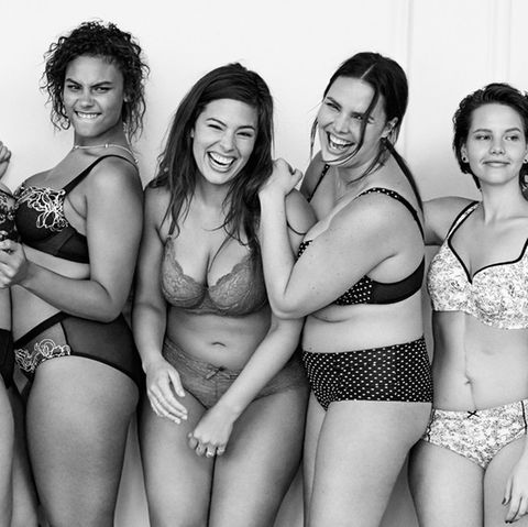 "Kampagnenmotiv des Plus-Size-Labels ""Lane Bryant"""