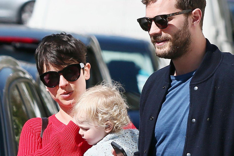 Jamie Dornan mit Ehefrau Amelia und Tochter Dulcie