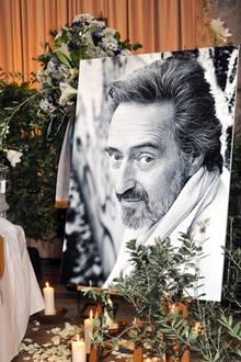 Helmut Dietls Trauerfeier