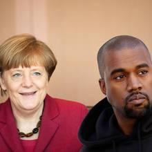Angela Merkel, Kanye West