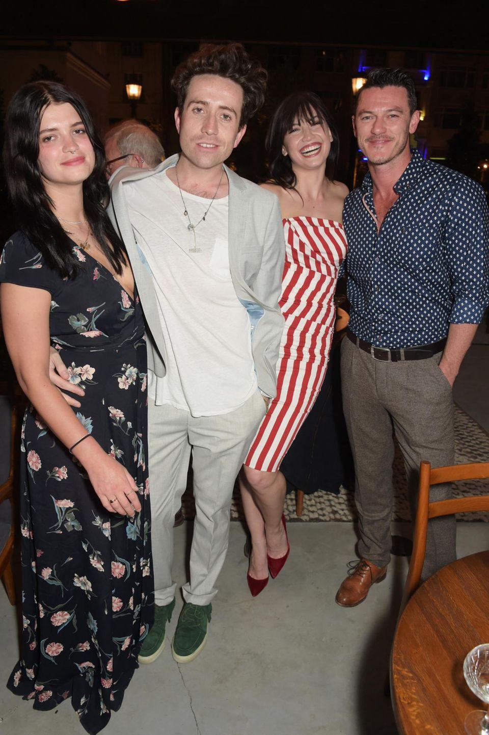 Pixie Geldof, Nick Grimshaw, Daisy Lowe und Luke Evans bei der Eröffnung des Soho House Istanbul