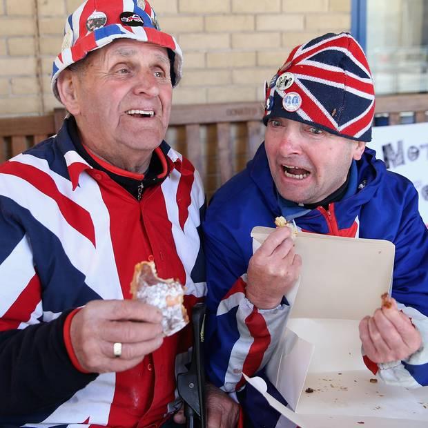 Herzogin Catherine + Prinz William: Fans der Royals lassen sich das Frühstück des königlichen Lieferservices schmecken