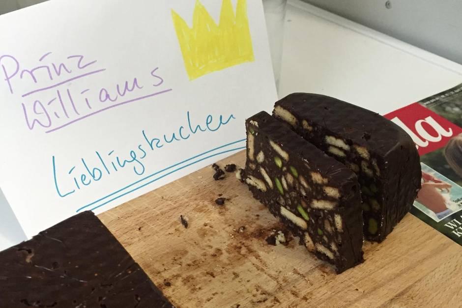 Prinz Williams Lieblingskuchen: Schoko-Keks-Kuchen