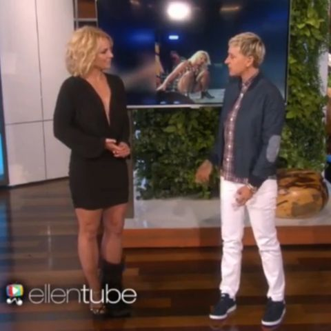 Britney Spears, Ellen DeGeneres