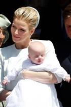 Fürst Albert, Fürstin Charlène und die Zwillinge