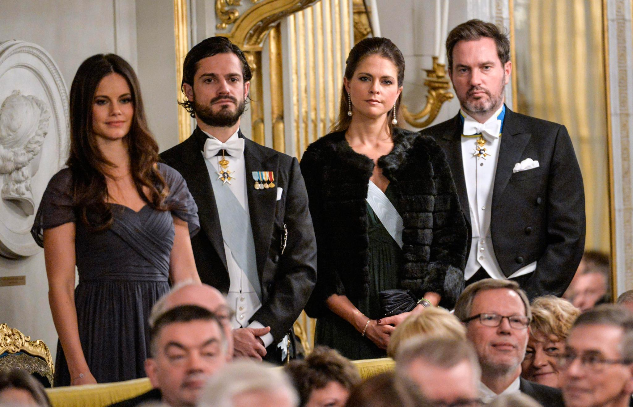 Sofia Hellqvist, Prinz Carl Philip, Prinzessin Madeleine, Chris O'Neill