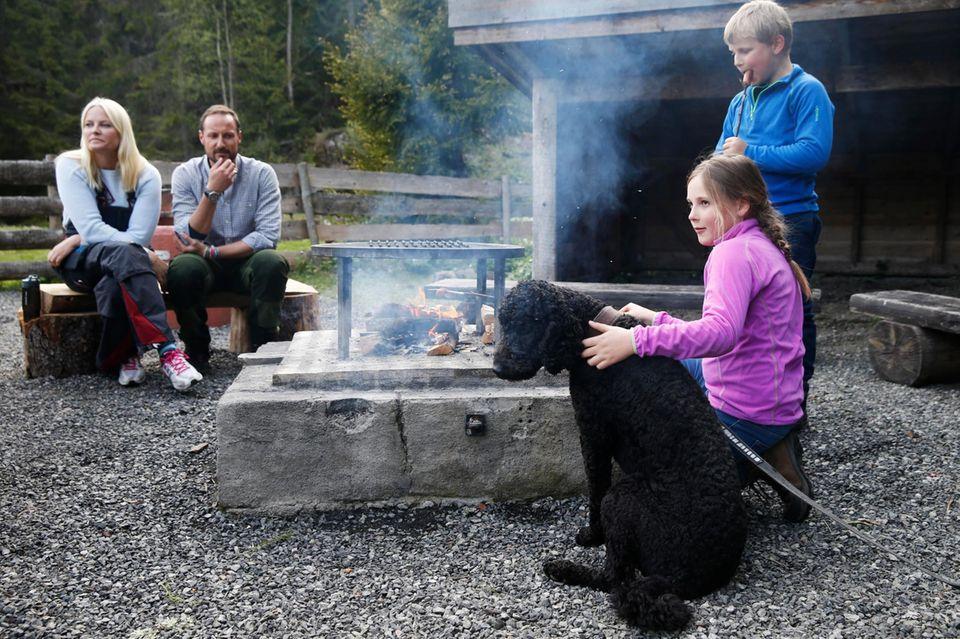 Mette-Marit, Haakon, Ingrid Alexandra, Sverre Magnus