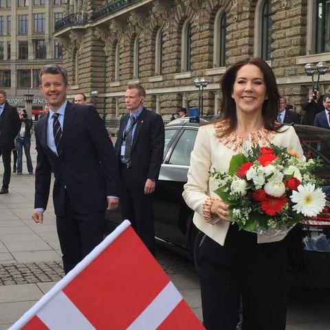 Prinz Frederik, Prinzessin Mary