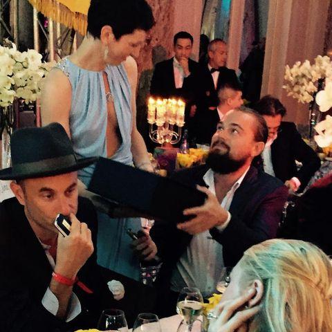 Leonardo DiCaprio, Paris Hilton